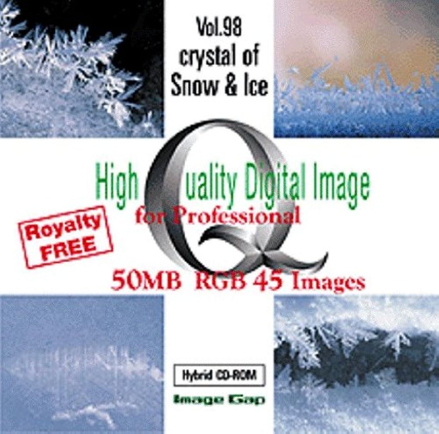 粘性のランプ楕円形High Quality Digital Image Crystal of Snow & Ice
