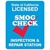 STOPSignsAndMore - SMOG Check Inspection and Repair Sign - Double-Faced - 24x30 - Non-Reflective | Rust Free Aluminum