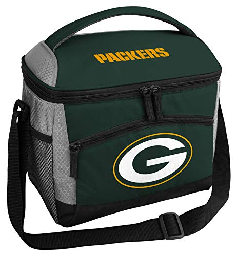 Rawlings NFL Soft Sided Insulated Cooler Bag/Lunch Box, 12-Can Capacity, Green Bay Packers