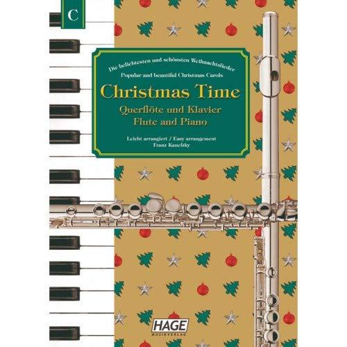 Hage - Christmas Time, dwarsfluit + piano