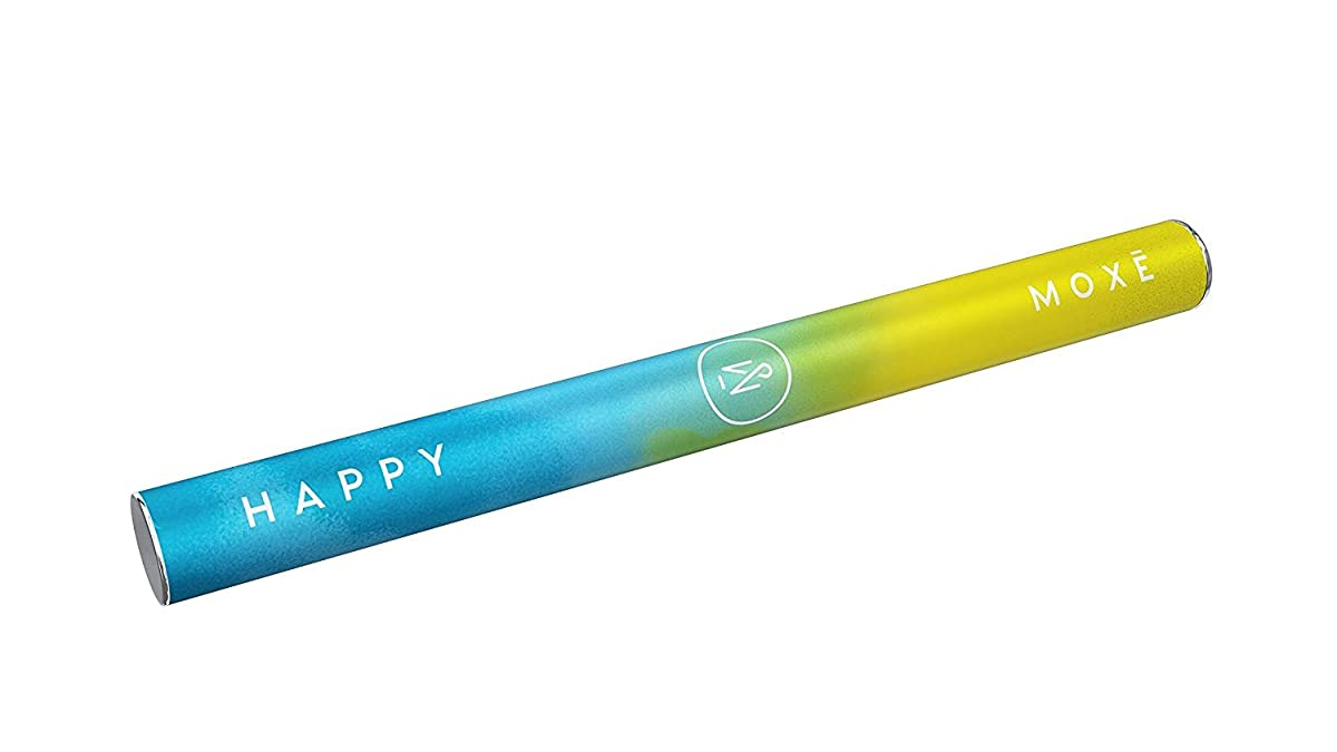 MOXē Happy | Essential Oil Pen | Aromatherapy Inhaler for Stress, Happiness, Joy and Wellbeing | Certified Organic Fennel, Thyme, Cinnamon, and Sage
