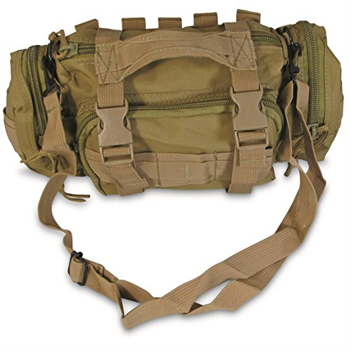 Renegade Survival First Aid Kit By for Camping and Hiking or Home and Workplace. It Is a Complete Kit for the Prepper Who Wants the Best Tactical Gear (Tan)