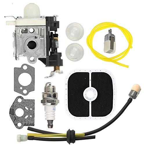 PB-251 Carburetor RB-K85 Fuel Line kit with Spark Plug Primer Bulb for Echo PB-265L PB-265LN Power Blowers Carb A021001350 A021001351 A021001352