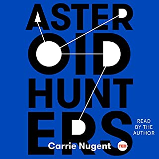 Asteroid Hunters audiobook cover art
