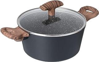 حلة طهي ميستون حجم 24 سم من بيدريني - رمادي غامق