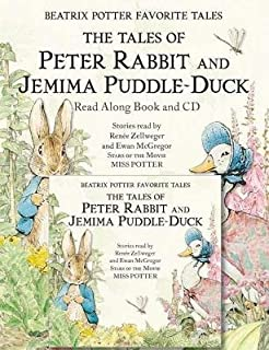 Beatrix Potter Favorite Tales( The Tales of Peter Rabbit and Jemima Puddle-Duck [With CD])[BEATRIX POTTER FAVORITE TALES][Paperback]