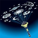 EUREKAKIDS Linterna proyectora Estrellas 4028501A