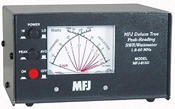 MFJ-815D MFJ-815 Original MFJ Enterprises HF + 6M Peak Reading SWR/Wattmeter