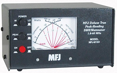 MFJ-815D MFJ-815 Original MFJ Enterprises HF + 6M Peak Reading SWR/Wattmeter. Buy it now for 109.99