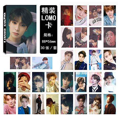 30 Unids/Set Kpop Nct 127 Nct U Álbum Tarjetas De Fotos Diy Lomo Tarjeta Postal...