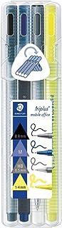 Staedtler 34 Sb4 Fineliner Triplus Pen, 4 Pieces