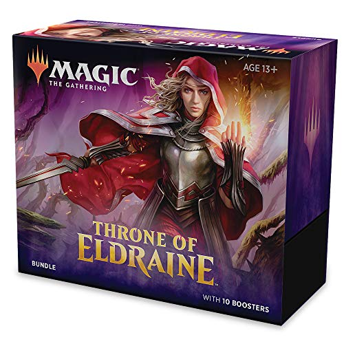 Magic: The Gathering Throne of Eldraine Bundle (Incluye 10 Paquetes de Refuerzos)