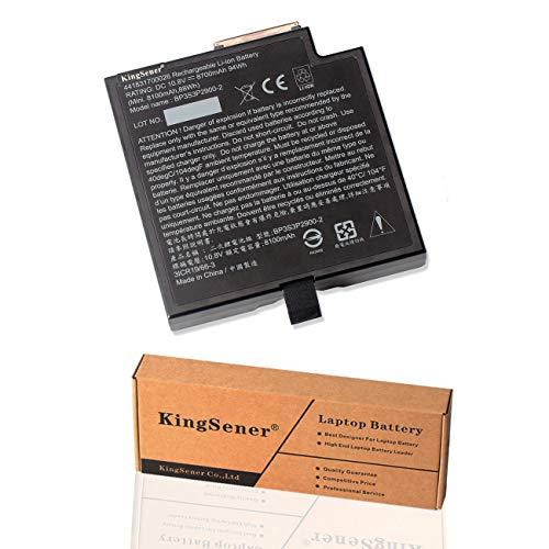 KingSener BP3S3P2900-2 Multimedia Bay Akku Für Getac B300 Rugged Notebook 3ICR19-66-3 BP3S3P2900-P 441831700026 10,8V 8700mAh Mit Zweijähriger Garantie