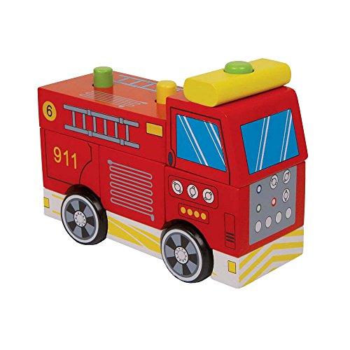 Small foot company - 6146 - Véhicule Miniature - Modèle Simple - Camion De Pompiers