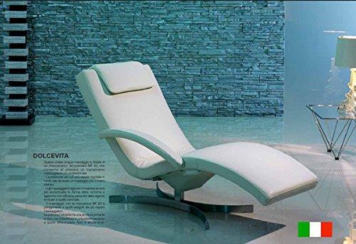 Poltrona Relax Elettrica Massaggiante Chaise Longue Mod. Dolcevita