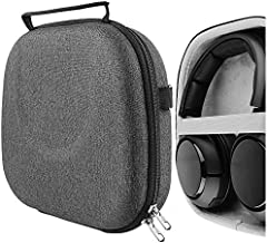 Geekria UltraShell Case for Arctis Pro, Arctis 7, Arctis 5, Arctis 3, Arctis 1, Siberia 800 Headsets, Replacement Protective Hard Shell Travel Carrying Bag with Room for Accessories (Dark Gray)