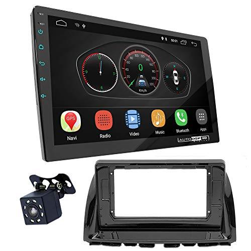 UGAR EX10 10' Android 10.0 DSP Car Radio mit 11-194L Panel Dash Instalación Fascia Kit para Mazda (6), Atenza 2012-2015; CX-5 2012-2017