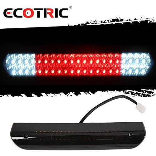 ECOTRIC LED Smoke 3rd Rear Mounted Third Brake Light Cargo Lamp Light waterproof For 2002-2009 Dodge RAM 1500 2500 3500