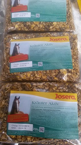 JOSERA Kräuter Aktiv Pferdefutter 4 Futterproben