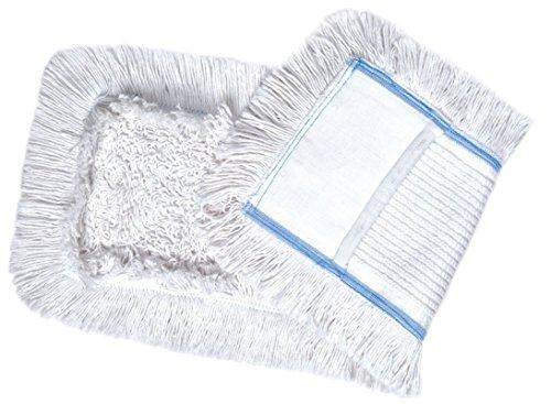 Thometzki 1 x Wischmop aus Baumwolle Wischmopp 40 cm Parkett Baumwollmopp - Wischbezug zur Echtholz Trockend Nass Bodenpflege - Bodenwischer für Dielen Parkett Laminat & Fliesen 40 cm