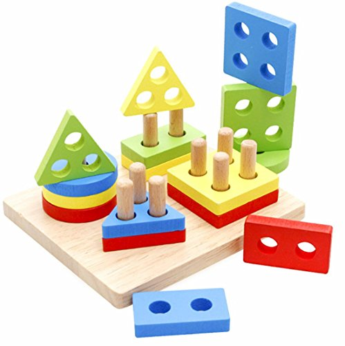 WINZIK Wooden Educational Puzzle...