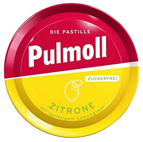 Pulmoll Zitrone Zuckerfrei, 10er Pack (10 x 50 g Dose)