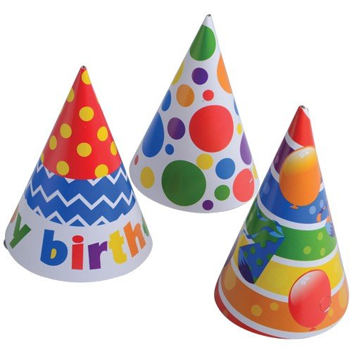 Purchase HAPPY B-DAY PAPER HATS, Sold By Case Pack Of 30 Dozens