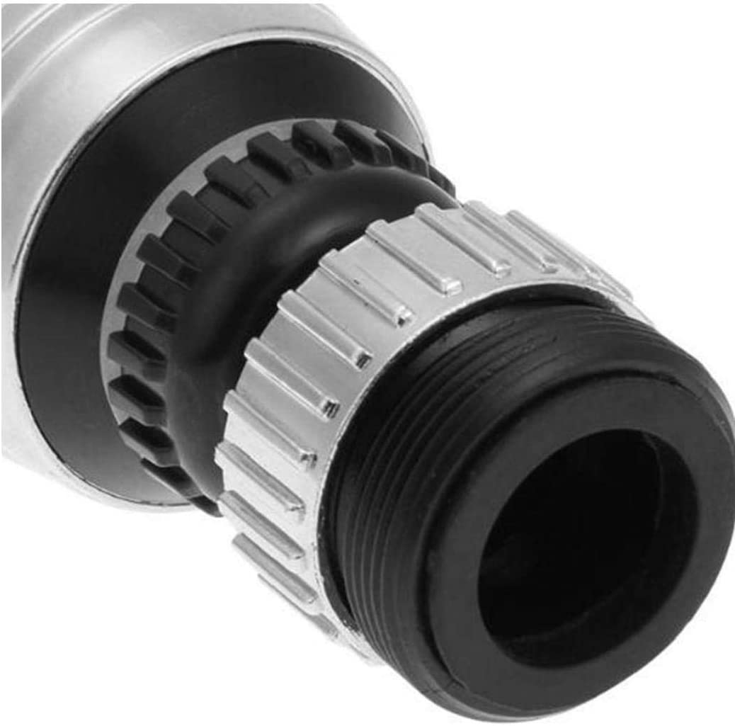 LjzlSxMF Grifo pulverizador extensi/ón de la Cabeza de 360 ??Grados giran el Grifo del aireador Giratorio Grifo de la Boquilla de Filtro Adaptador del Grifo del aireador Difusor Accesorios de Cocina