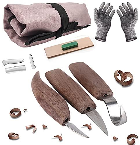 DIAOPROTECT -  Holz Schnitzmesser,