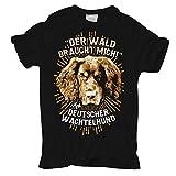 Männer und Herren T-Shirt Deutscher Wachtelhund - Der Wald braucht Mich Größe S - 5XL