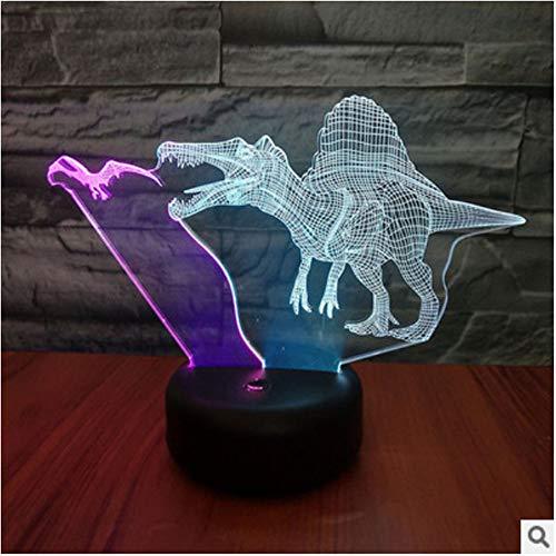 Neue fliegende Drachen und Kammdrachen ED3D Nachtlicht visuelle kreative bunte Fernbedienung Touch U Stereo Lichter Geschenk Lichter