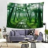 Miwaimao Tapiz de tela para colgar gótico, fantasía, bosque, seta decoración del hogar, paisaje, fondo de tela tapiz, g, 150x200