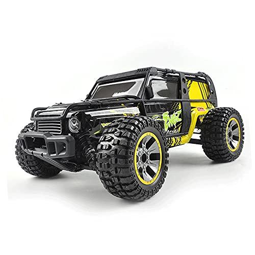 KGUANG Coche todoterreno inalámbrico Rc 1:10 Amortiguador hidráulico de carreras de alta velocidad a escala 4WD Big Foot Drift 2.4G Control remoto Off-road Buggy Sand Dune Juguete eléctrico adecuado p