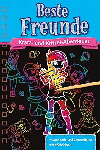 Kratzbuch: Beste Freunde: Kratz- und Kritzel- Abenteuer