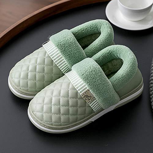 B/H Interni Antiscivolo Pantofole Scarpe di Cotone Slipper,Pantofole Donna Autunno e Inverno.Interno domestico-37_A1,Invernale Antiscivolo Inverno Home Scarpe