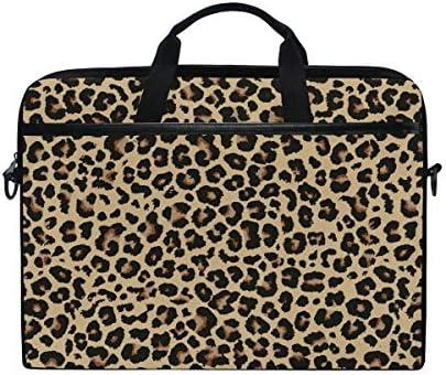 ALAZA Cheetah Leopard Print Animal Skin Laptop Case Bag Sleeve Portable Crossbody Messenger product image