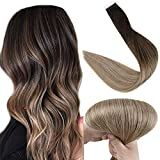 Best Tape In Hair Extensions - Full Shine 18 Inch Tape Ombre Hair Extensions Review