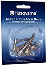 Husqvarna Shear Bolts & Nuts Kit for 2 Stage Snow Blowers/Throwers (6 Pack) 570XP,..