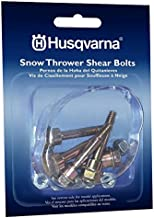 Husqvarna Shear Bolts & Nuts Kit for 2 Stage Snow Blowers (6 Pack) 580790401