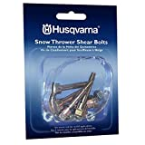 Husqvarna Shear Bolts & Nuts Kit for 2 Stage Snow Blowers/Throwers (6 Pack) 570XP, 575XP, 576XP/ 580790401