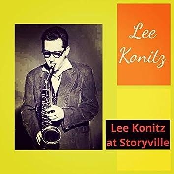 Lee Konitz at Storyville