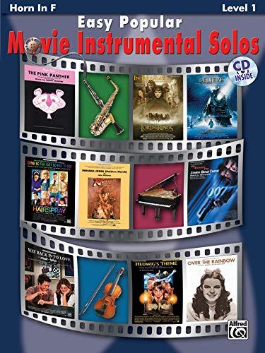 Easy Popular Movie Instrumental Solos: Horn in F (incl. CD) (Easy Popular Movie Instrumental Solo Series)