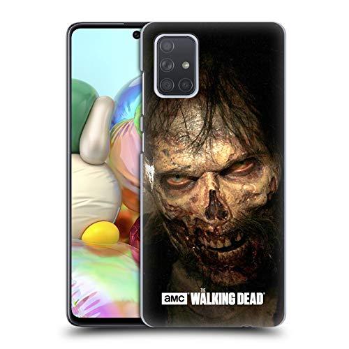 Head Case Designs Licenciado Oficialmente AMC The Walking Dead Mirar fijamente Caminantes Carcasa rígida Compatible con Samsung Galaxy A71 (2019)