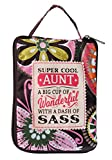History & Heraldry Aunt Tote Bags, 16x14, Multicolored