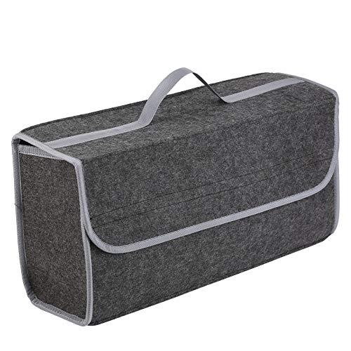 KingSaid Filz Kofferraumtasche Kofferraum Tasche Werkzeugtasche mit Klettband