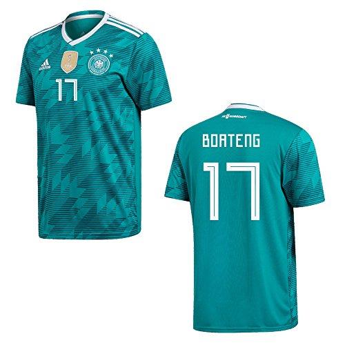 DFB DEUTSCHLAND Trikot Away Herren WM 2018 - BOATENG 17, Größe:L
