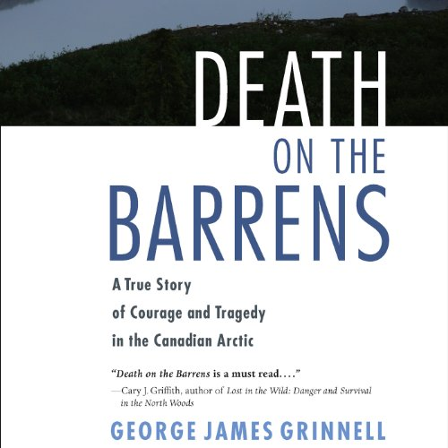Death on the Barrens audiobook cover art
