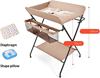 Changing Table Paper Multifunctional Crib,Style For Home Travel Portable Bassinet For Baby,Baby Changing Table, Baby Care Table Baby Room Operation Table, Touch Table, Portable Folding Diaper Station