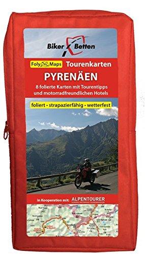 Tourenkarten Set Pyrenäen mit Costa Brava (FolyMaps)