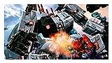 ZGPTOP Jigsaw Puzzle Transformers Bumblebee Optimus Prime La Mejor Decoración para El Hogar De Bricolaje 300/500/1000/1500 Piezas, 2 Estilos (Color : B, Size : 1000P)